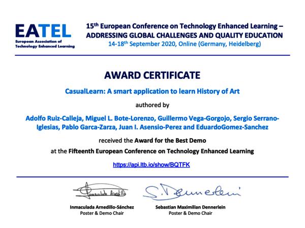 Certificado ECTEL